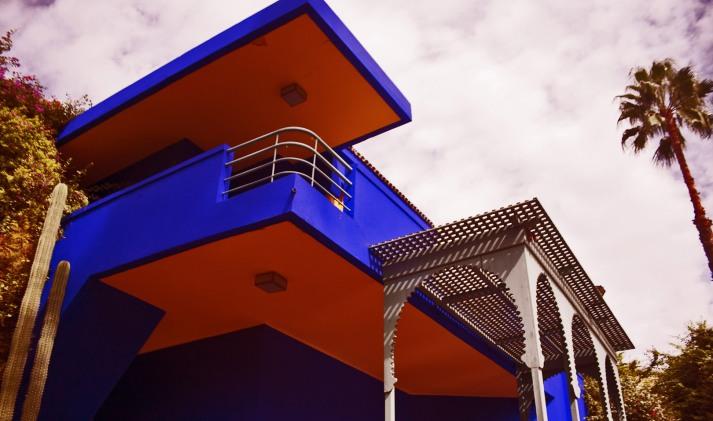 architecture villa majorelle