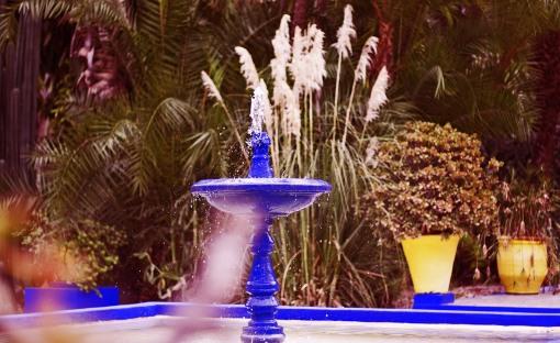 Fontaine carré majorelle