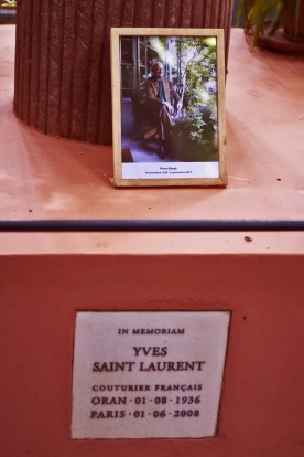 memorial yves saint laurent majorelle