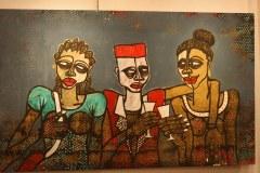 Peintre Obou le polygame