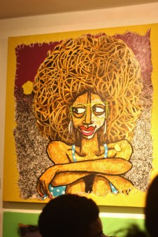 Peintre Obou Les copines 2