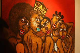 Peintre Obou Les copines 4
