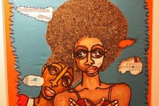 Peintre Obou Les copines 8